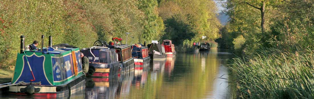 The Grand Union Canal near Stockton