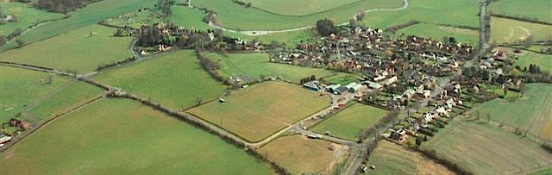Aerial view of Birdingbury