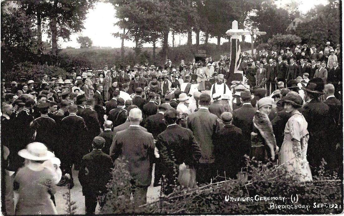 Unveiling Ceremony Birdingbury, 1921